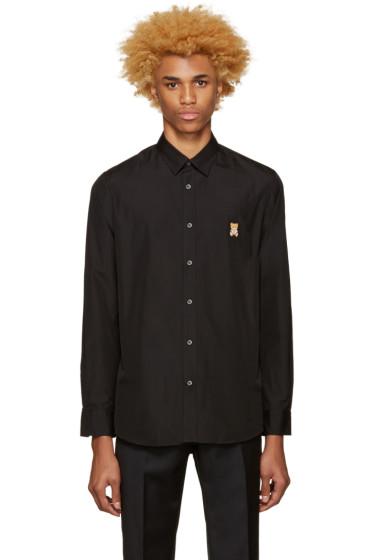 Moschino - Black Teddy Bear Shirt