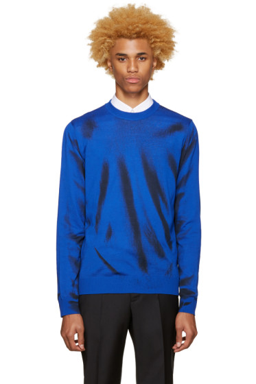 Moschino - Blue Paint Pullover