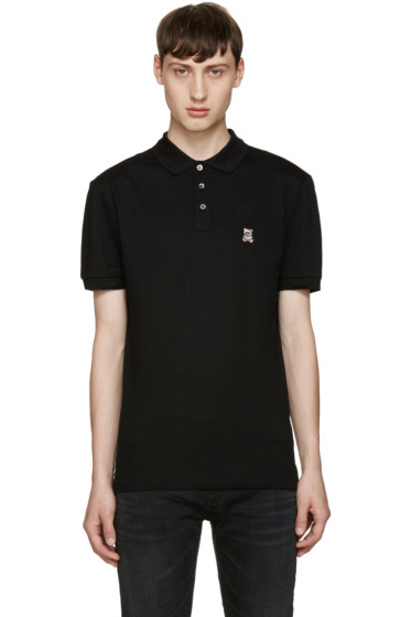 Moschino - Black Teddy Bear Polo