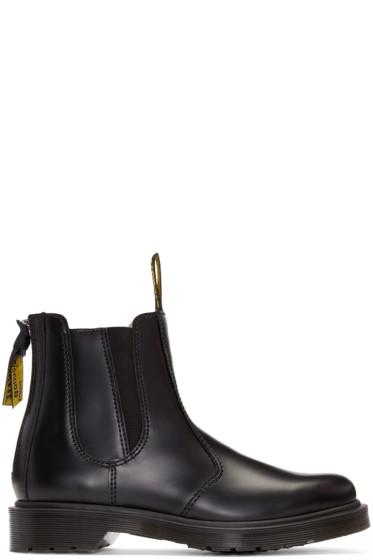 Y's - Black Dr. Martens Edition Chelsea Boots