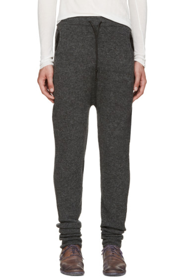 Isabel Benenato - Grey Knit Lounge Pants