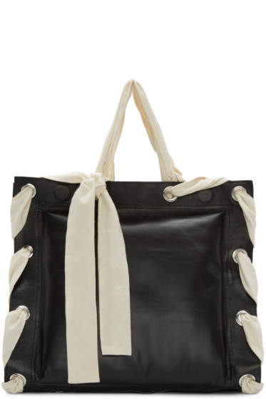Craig Green - Black Triple Punch Tote