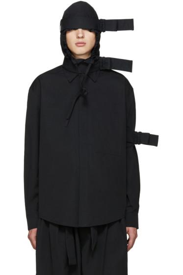 Craig Green - Black Hooded Straps Jacket