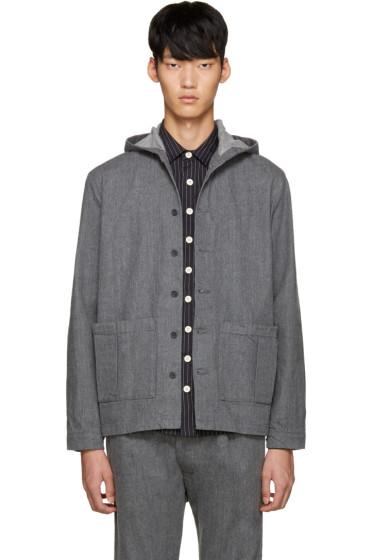 Sunnei - Grey Selvedge Denim Jacket