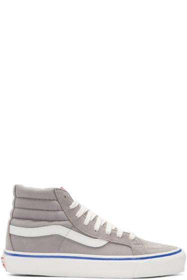 Vans - Grey OG Sk8-Hi LX Sneakers