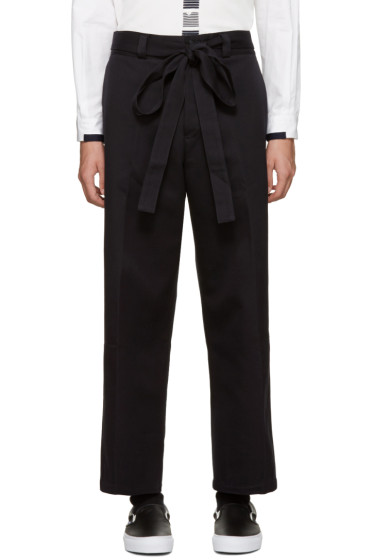 Tomorrowland - Navy Wide Trousers