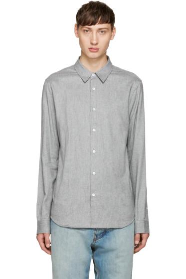 M.R. Editions - Grey Flannel Shirt