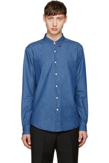 M.R. Editions - Blue Chambray Shirt