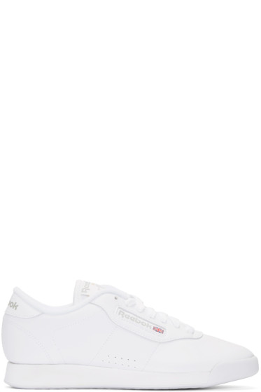 Reebok Classics - White Leather Princess Sneakers