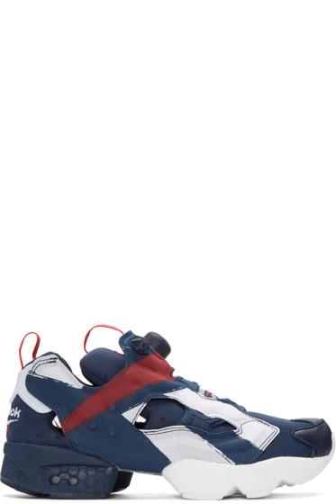 Reebok Classics - Navy InstaPump Fury Sneakers
