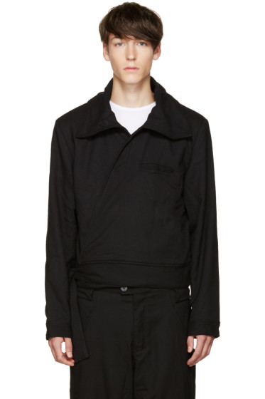 Telfar - Black Wrap Jacket