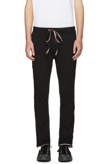 Telfar - Black Layered Lounge Pants