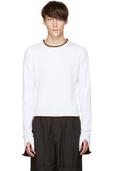 Telfar - White Ringer T-Shirt