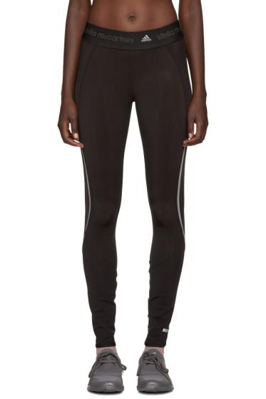 adidas by Stella McCartney - Black Climaheat Leggings