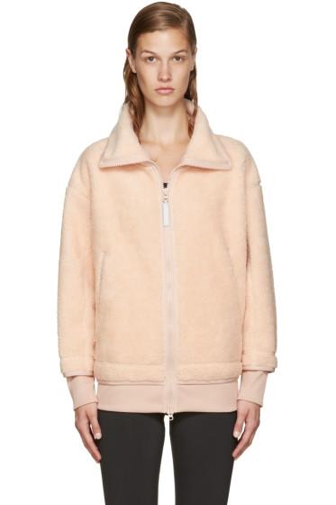 adidas by Stella McCartney - Pink Teddy Fleece Sweater