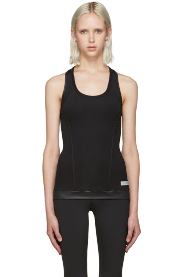 adidas by Stella McCartney - Black Performance Tank Top