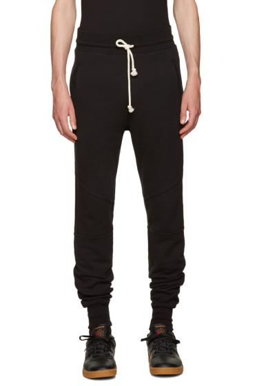 John Elliott - Black Escobar Lounge Pants