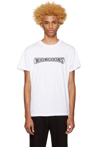 Noon Goons - White Logo T-Shirt