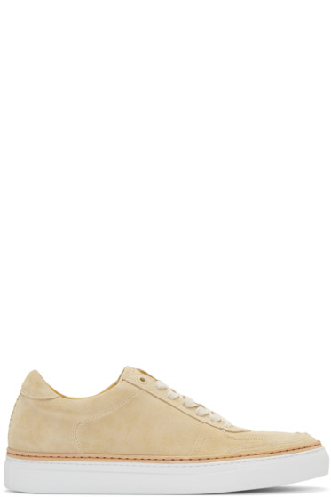 No.288 - Beige Suede Grand Sneakers