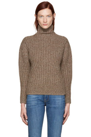 Totême - Brown Verbier Turtleneck