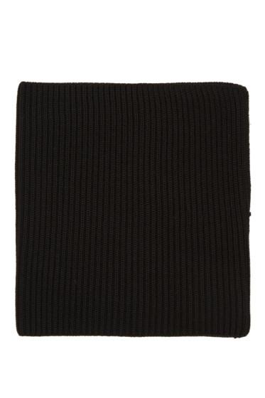 Hyke - Black Wool Neck Warmer