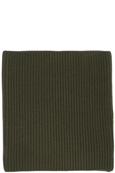 Hyke - Green Wool Neck Warmer