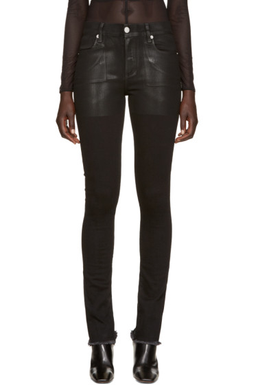 Alyx - Black Zip Back Skinny Jeans