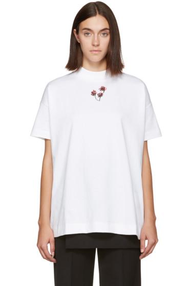 Alyx - White Mock Neck T-Shirt