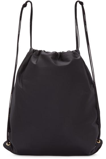 Tsatsas - SSENSE Exclusive Black Leather Xela Backpack