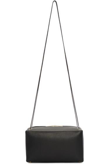 Tsatsas - Black Leather Linden Bag