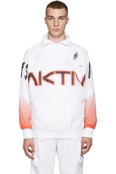 Perks and Mini - White Printed Aktiv Jacket