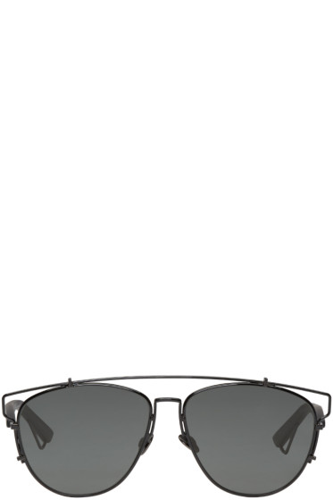 Dior - Black Technologic Sunglasses
