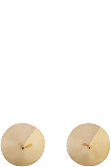 Lauren Klassen - Gold Spike Earrings
