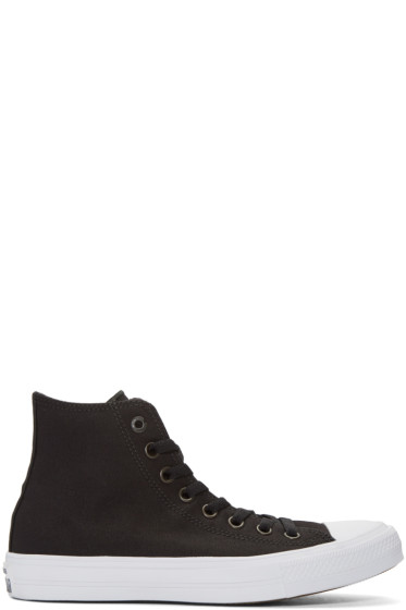 Converse - Black & White Chuck Taylor All Star II High-Top Sneakers