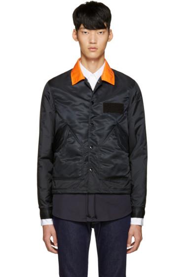 ganryu - Black Nylon Jacket
