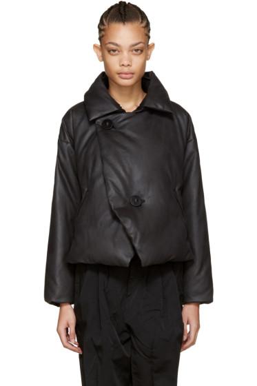 Issey Miyake - Black Down Lava Jacket