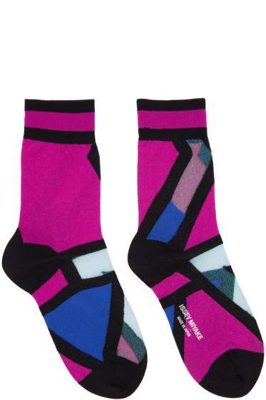 Issey Miyake - Pink Ray Socks