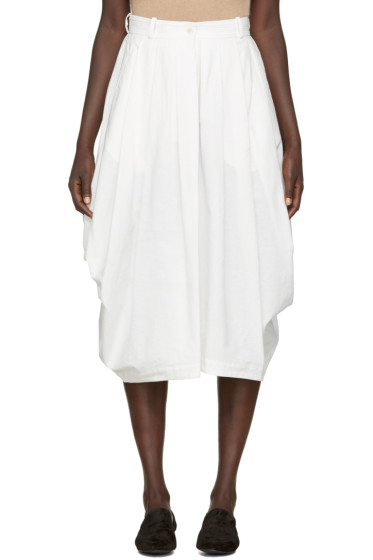 Nehera - White Cotton Sisi Skirt