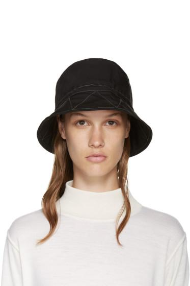 and Wander - Black Nylon Bucket Hat