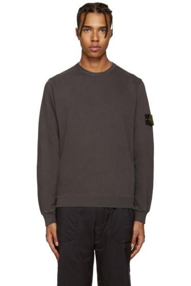 Stone Island - Grey Classic Sweatshirt