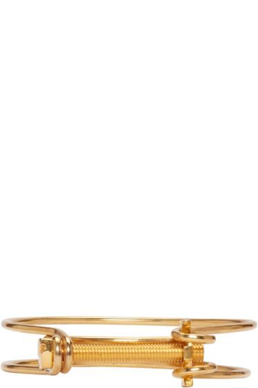 Ribeyron - Gold Screw Bracelet