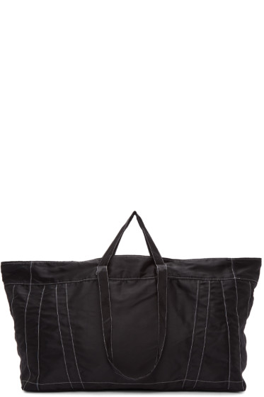 Ribeyron - Black Big Shopper Tote