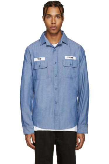 Richardson - Blue 'Trip Freak' Shirt