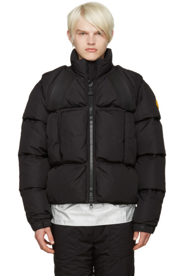 Moncler O - Black Trouville Jacket