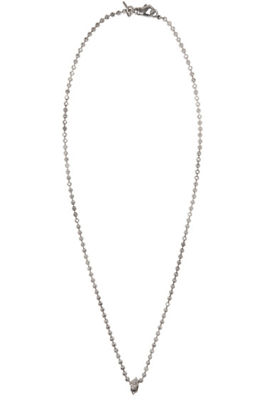 Emanuele Bicocchi - Silver Disco Chain Necklace