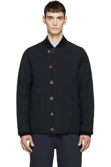 Visvim - Navy Wool Reversible Jacket