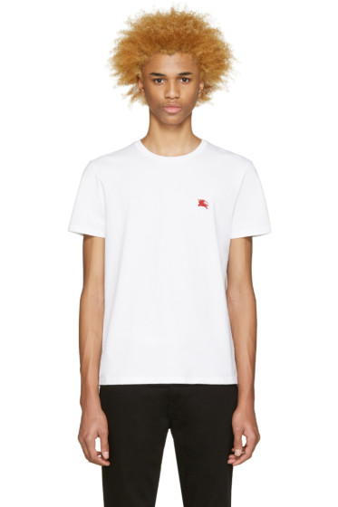 Burberry Brit - White Tunworth T-Shirt