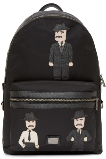 Dolce & Gabbana - Black Sicilian Backpack