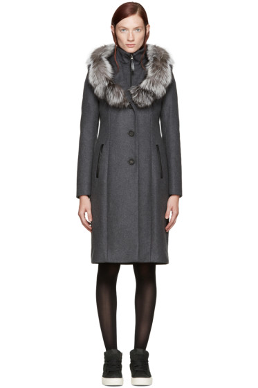 Mackage - Grey Mila Coat