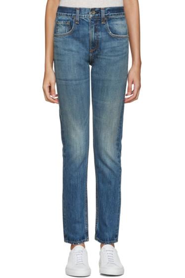 Rag & Bone - Blue Marylin Jeans